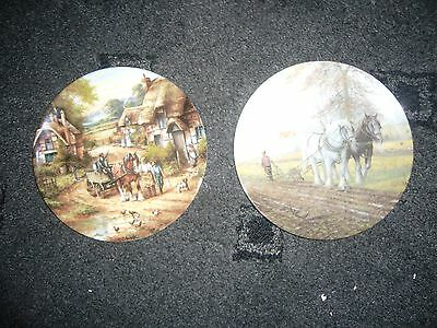 2 Limited edition plates - Wedgwood & Royal Doulton (20cm)