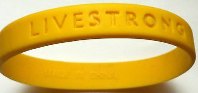 LIVESTRONG Wristband - Lance Armstrong Foundation - New But No Packaging.