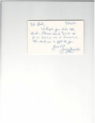 Joey Giambra Welterweight Boxing Contender Autographed 3 X 5