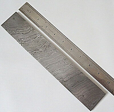 BB-44 Custom Handmade Damascus Steel Billet / Blank Blade Making Bar
