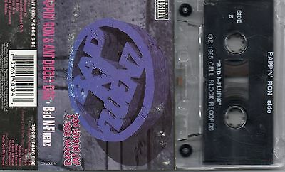 Rappin' Ron  & Ant Diddly Dog Audio Cassette Bad N-Fluenz