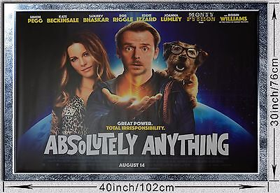 Absolutely Anything Movie Original UK Cinema Quad Poster 30x40