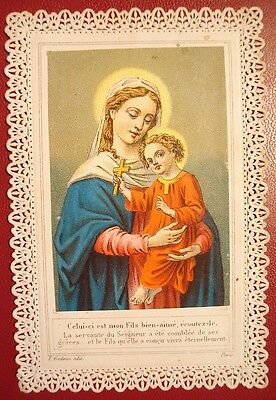 191. Antique Holy Card Lace