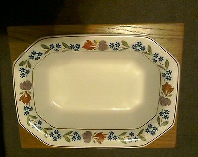Adams china open vegetable dish - Old Colonial