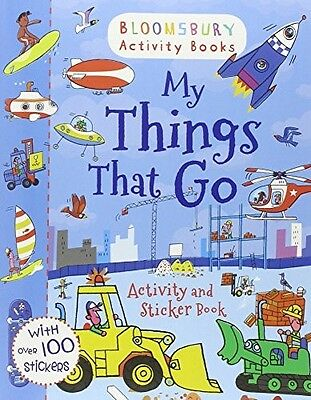 My Things That Go! Activity and Sticker Book (Activity Books for Boys) . New Boo