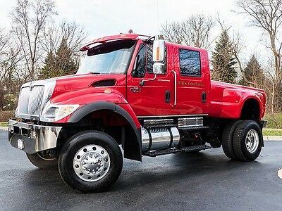 2006 International 7300 CXT 4X4 Pick-Up Hydraulic Dump Bed Only 10k Miles WOW