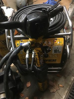 2014 JCB Generator Hydraulic beaver Pack And Breaker HM25 Hammer
