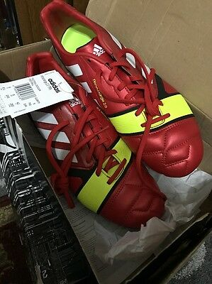 Adidas Nitrocharge 2.0 Football Boots Size 8 In Red COLOUR (UK)