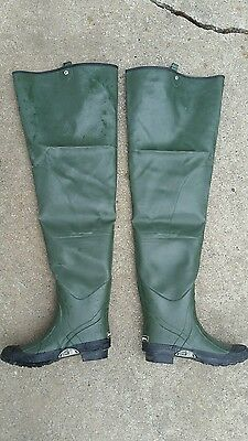 Remington Insulated Steel Shank Rubber Hip Waders Size 11 fishing hunting