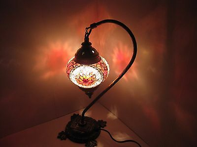 Amazing Handcrafted Turkish Moroccan Mosaic Table Lamps For Living Room Bedroom