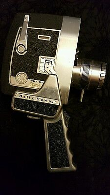 Vintage Bell & Howell Zoomatic Director Series 8mm Movie Camera 414