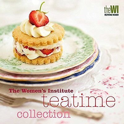 Women's Institute Tea Time Collection Hardcover Book Brand New