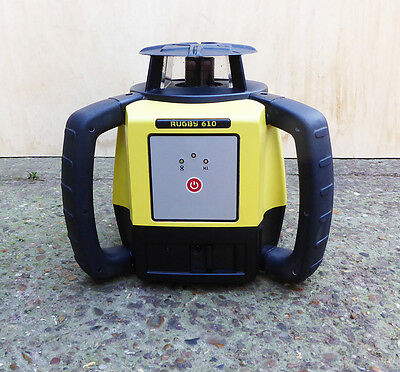 Leica Rugby 610 Self Leveling Rotating Laser