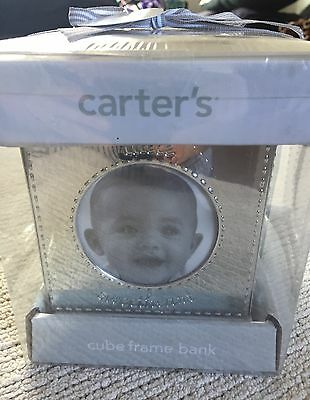 Carters Keepsake Cubed Photo Frame And Bank