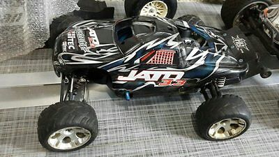 Traxxas Jato 3.3 R to run and Novarossi 3.3 engine NEW. Lot of extras. C VIDEO