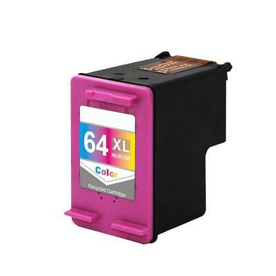 Replacement Hp 64xl N9j91an Tri Color Ink For Envy 7830 7855 7858