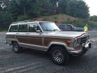 1990 Jeep Wagoneer  1990 Jeep Grand Wagoneer...IMMACULATE...GREAT CONDITION....A MUST