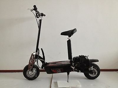 49cc PETROL GAS SCOOTER POWERFUL ADULT SIZE FOLDING SUSPENSION ELECTRIC EVO2