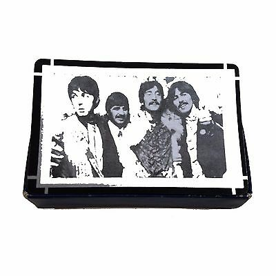 Beatles playing cards