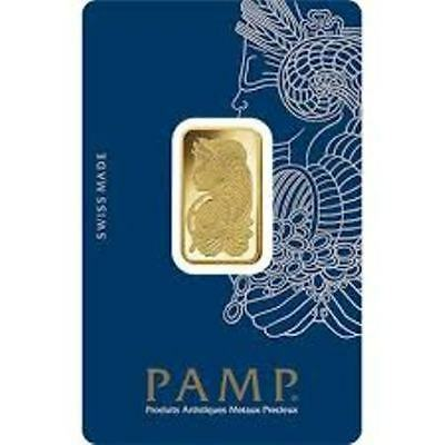 PAMP SUISSE Lady Fortuna 10g (gram) Gold Bar .9999 PURE