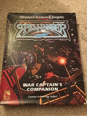 AD&D 1072 Spelljammer War Captain's Companion Complete