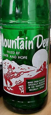 1964 Youngstown, Ohio, Mountain Dew bottle: Filled by Elmer and Hope