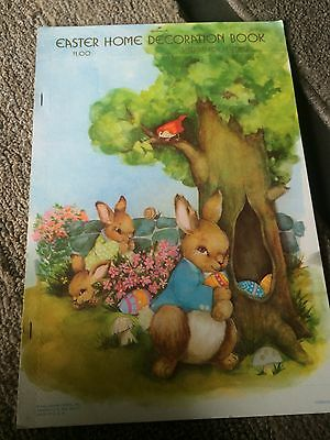 Vintage early 1970's Hallmark Easter Home Decoration Book