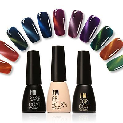 Hot Matte Soak Off Color Gel Nail Polish Base Top Coat UV LED Manicure Nail Art