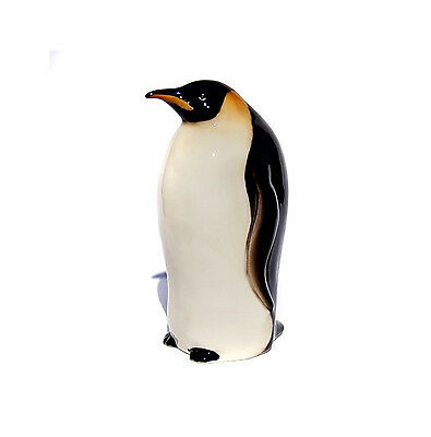 Penguin porcelain large figurine High-quality realistic Russian Federation