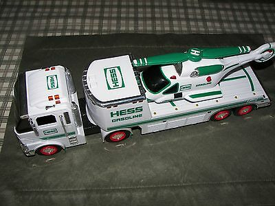 Hess Truck & Helicopter  -  Work Great - 2006 - Very Good Condition