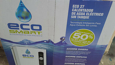 Ecosmart 27 Electric Tankless Water Heater, 240 Volts, 27 Kw. SAVE!!!