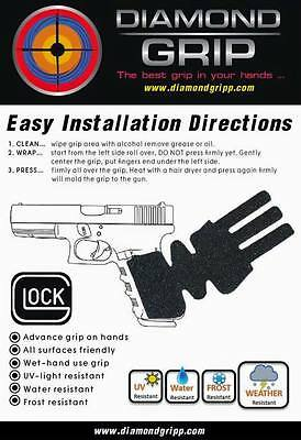 GLOCK combo set Grip-Tape Diamondgripp Models 17 19 21 34 23 25 26 29 30 36 41
