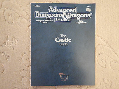 Advanced Dungeons & Dragons The Castle Guide (2nd Edition 1990)