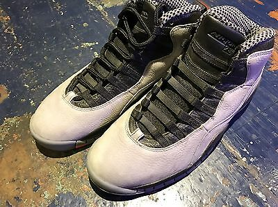 Men's Air Jordan 10 X Size US 10 Brand New Basketball Shoes. Infrared/cool Grey