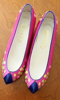 NEW Korean Traditional Women's Shoes for Hanbok Dress 225mm/US~5.5 Heel 5cm/2""