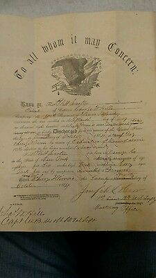 Civil war document #3 To all whom it may concern