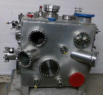 Varian Mdc Stainless Steel High Vacuum Chamber