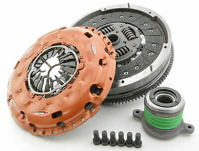 Xtreme HEAVY DUTY clutch kit & SOLID flywheel inc slave CSC Colorado 2.8L RG CRD