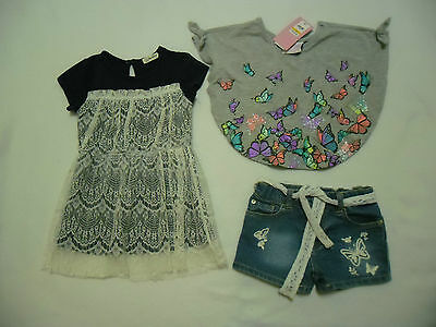 Girls Clothing Outfit Size 2 Summer Wear Shorts Top Dress