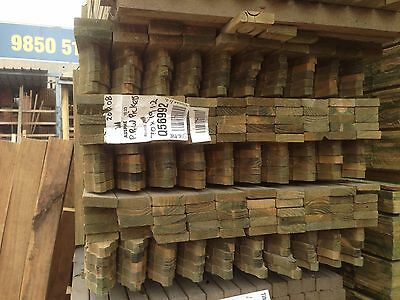 Treated Pine H3 Windsor Picket 1.2m Pack Lot of 270 Fence Screen Pickets
