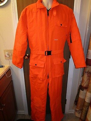 Winchester Blaze Orange Hunting Suit Size 44 - 46 XL Pre-owned