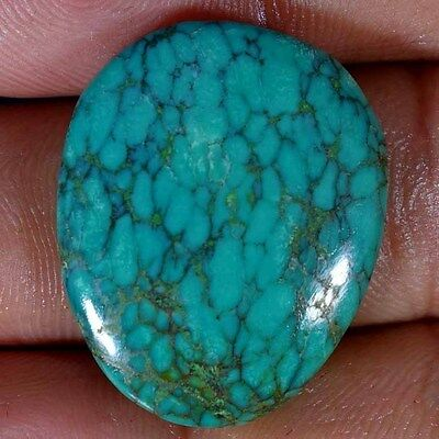 29.95Cts. 100% NATURAL TIBET TURQUOISE FANCY CABOCHON UNTREATED LOOSE GEMSTONES