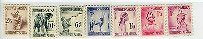 South West Africa Early Stamps Set