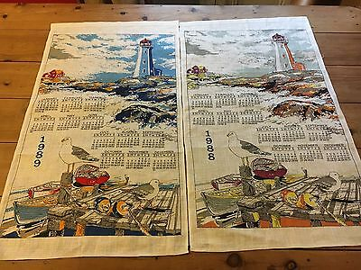 Vintage Linen Tea Towels - Pure Linen - Made In Poland