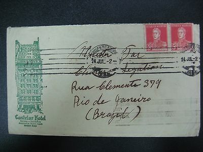 Argentina Early Postal History Cover