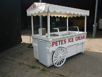 Catering Barrow Food Shopping Centre Vending Cart