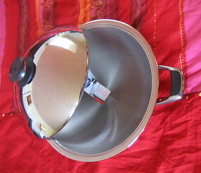 Original AMC Wok, Chinawok, 36 cm, 5,6 ltr., für Induction geeignet