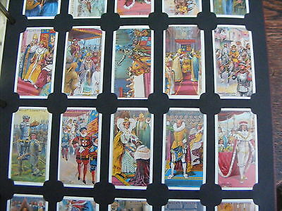 CARD COLLECTORS SOCIETY-SET THE CORONATION SERIES  by W.D.& HO.WILLS REPRODUCTIO