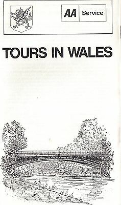 AA Automobile Association Tours In Wales