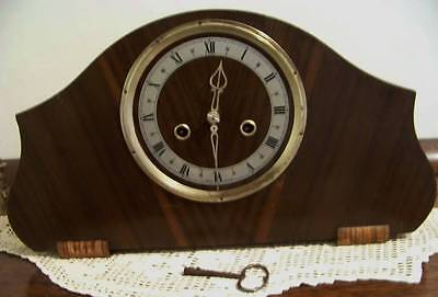 Mantel Clock Striking 8 Day Enfield  Made In England
